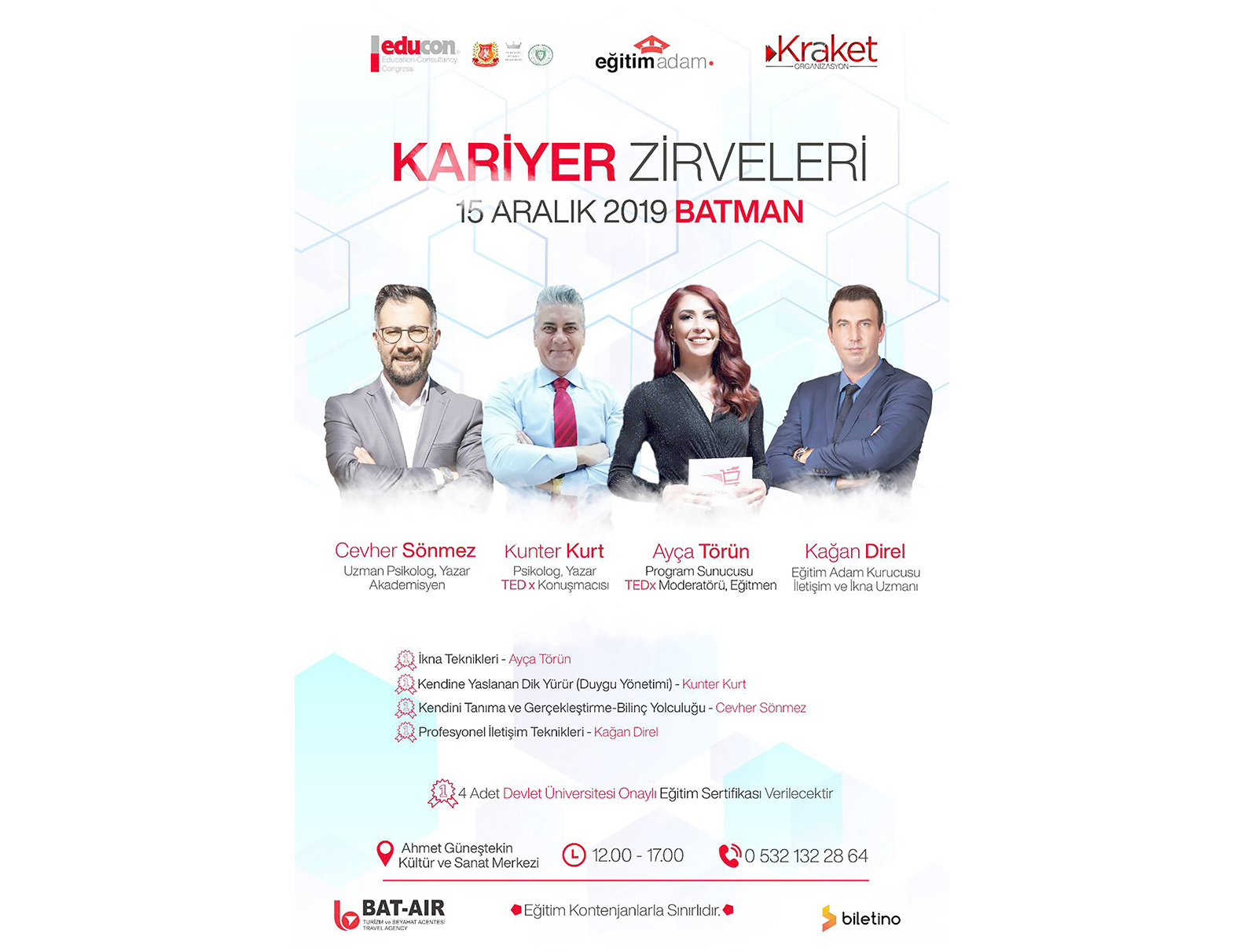 BAT-AİR'DEN KARİYER ZİRVESİ